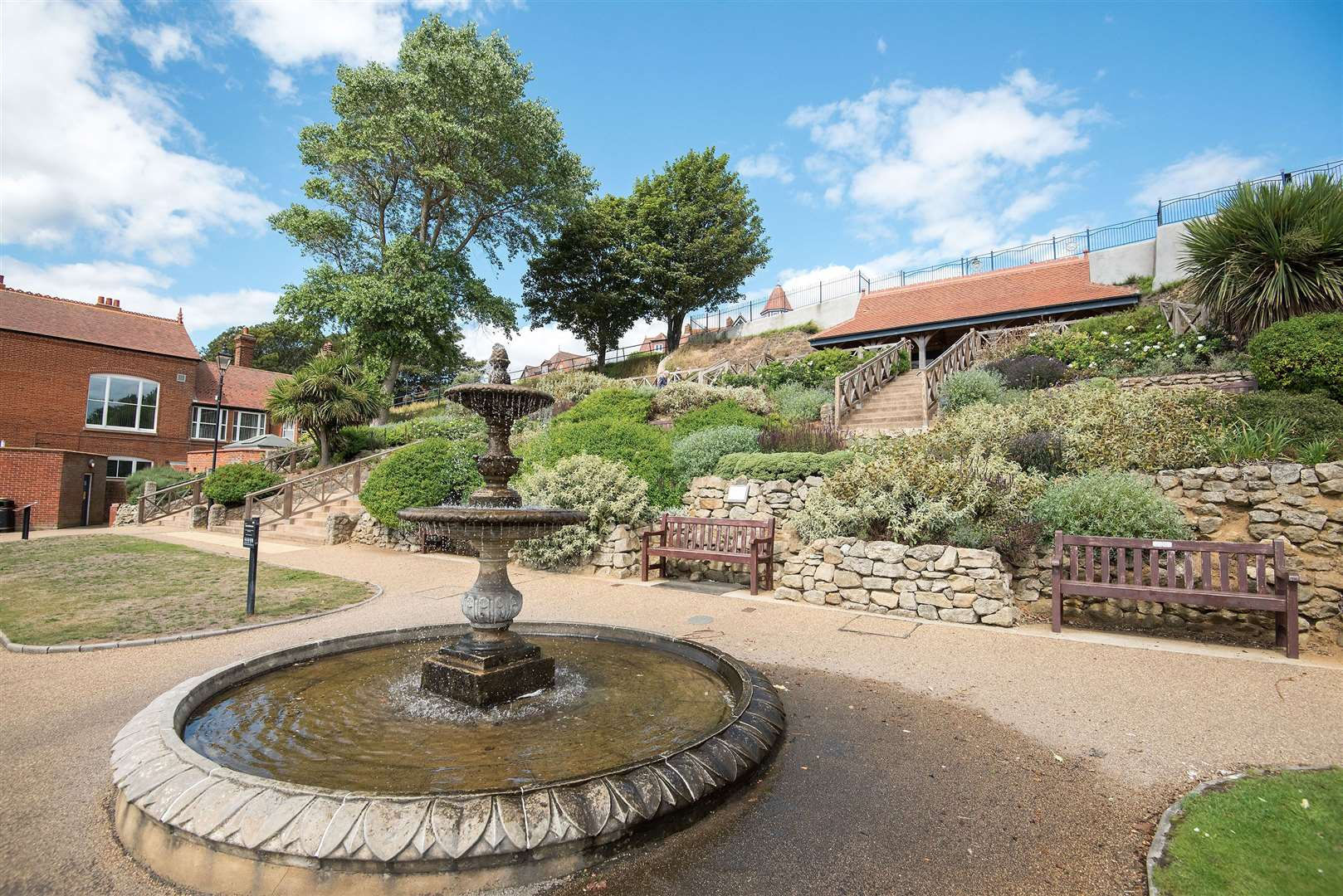 Felixstowe Seafront Gardens also achieved the Green Heritage Site Accreditation. Picture by Mark Westley