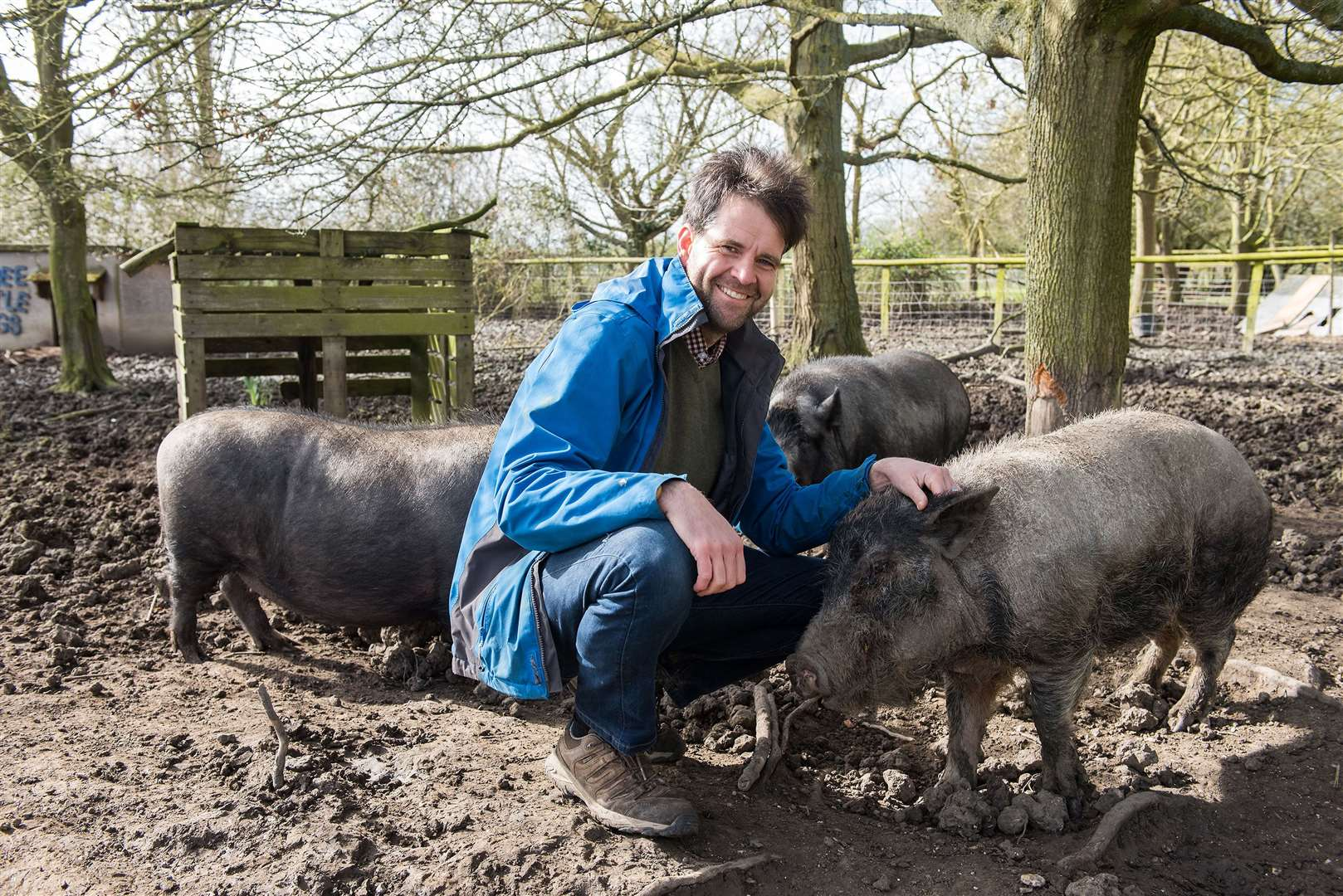 David Woricker, who leases the farm, is hoping the public will get behind it and the animals for which it is home. Picture by Mark Westley.