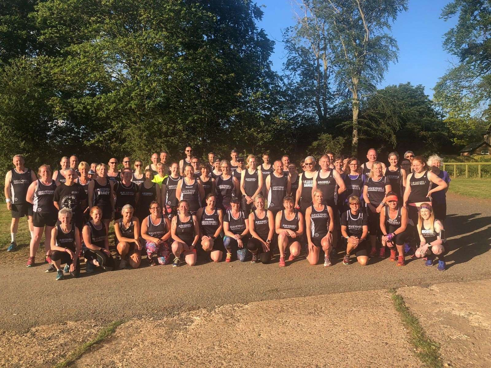 Haverhill Running Club - 94 runners competed at Newmarket Joggers' Kevin Henry event Thursday, June 6 2019. Female event winner Nicki Davis a HRC runner (12139425)