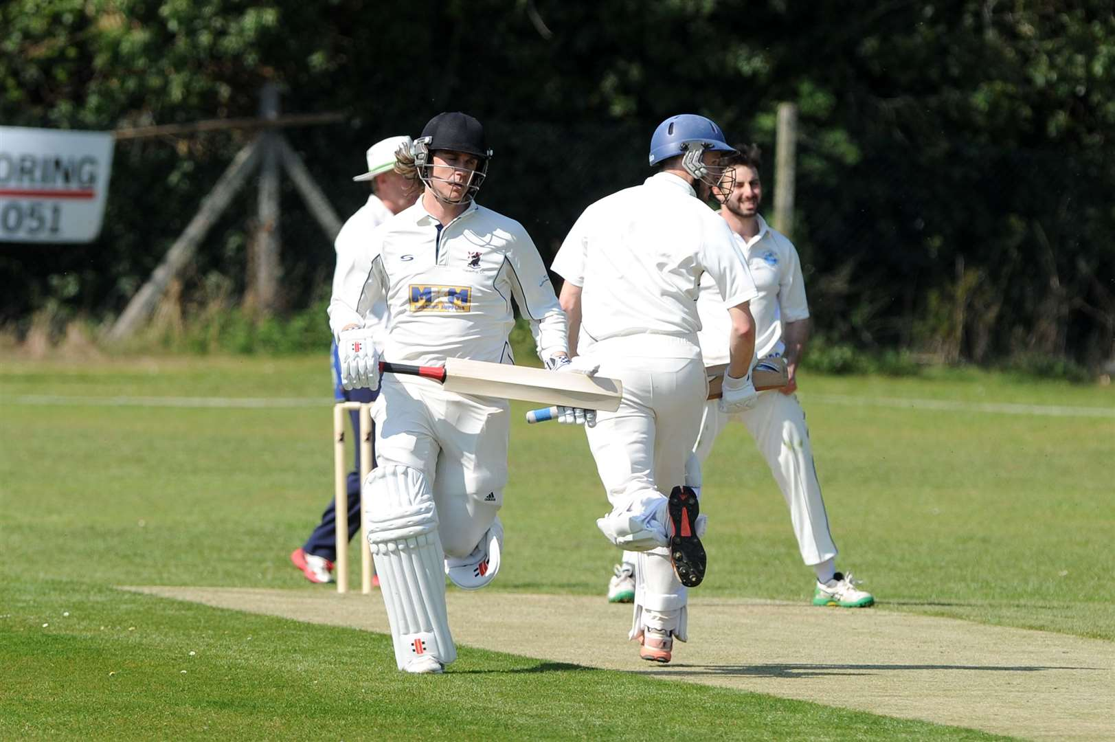 CRICKET - Haverhill (Batting) v Ipswich...Pictured: Adam Dellar ...PICTURE: Mecha Morton.... (8942114)