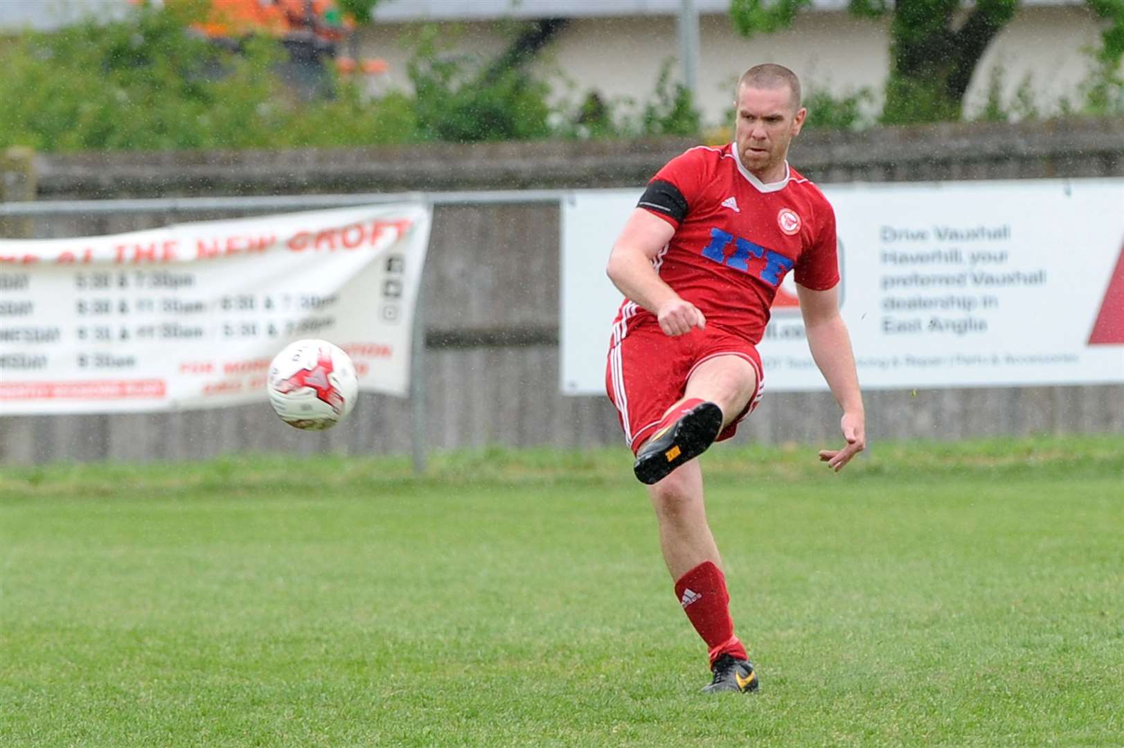 Haverhill Rovers held a Testimonial for Marcus Hunt over the summer (Picture: Mecha Morton)