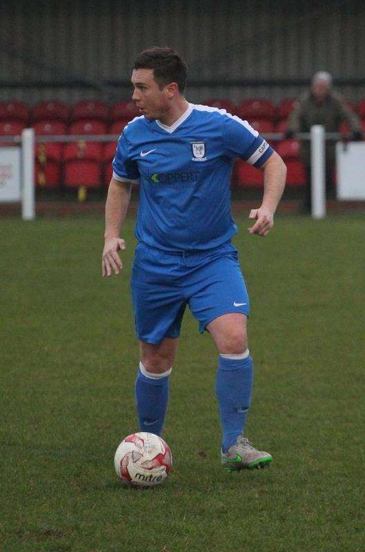 Lee Hurkett made his 100th appearance for Haverhill Borough in their 2-0 loss away to Fakenham Town, new manager Kevin Parsons' first game in charge (6369124)