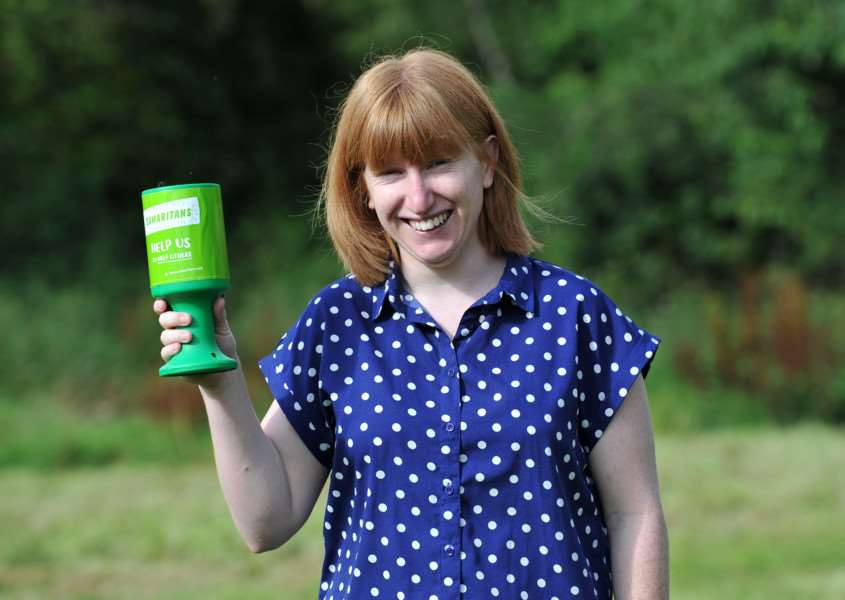 Jenny Saggers is undertaking a sky dive in aid of the Bury and West Suffolk Samaritans, to raise money to renovate and furnish their new headquarters. ANL-150914-155959009