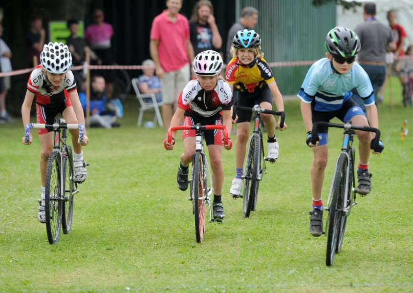 There was plenty of competitive action at the Mildenhall Cycling Festival