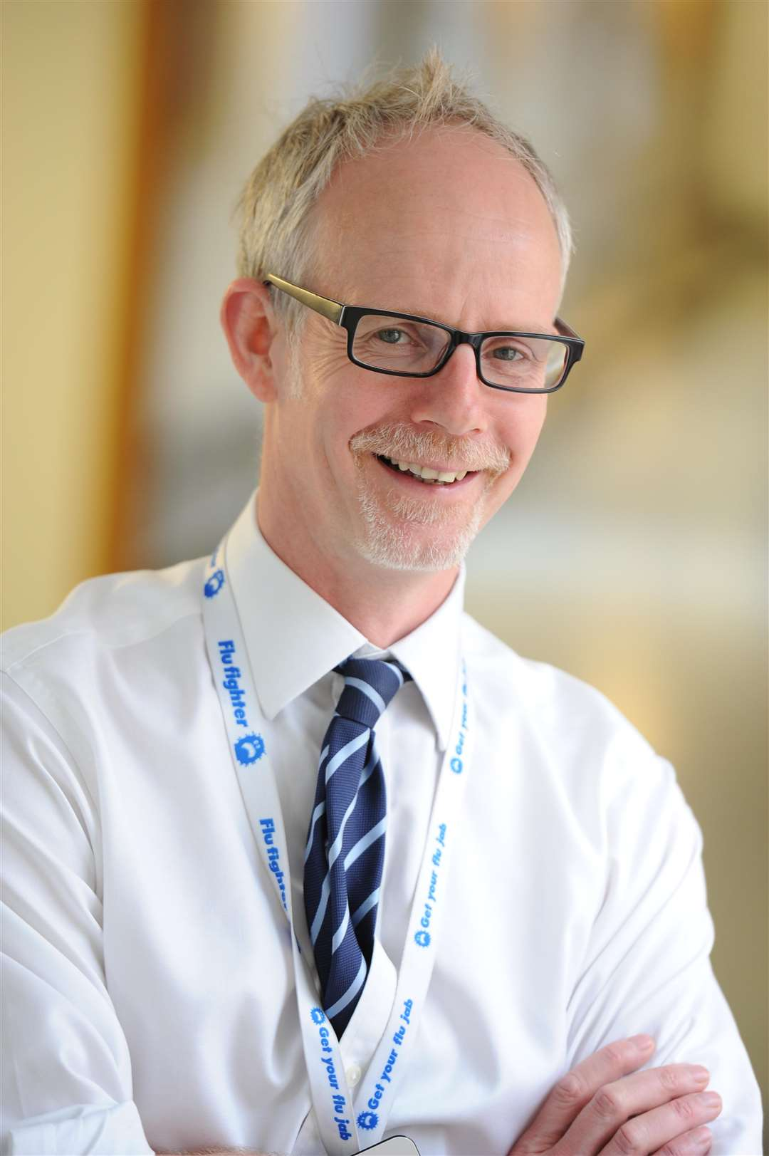 Dr Stephen Dunn, Chief Executive of West Suffolk Hospital
