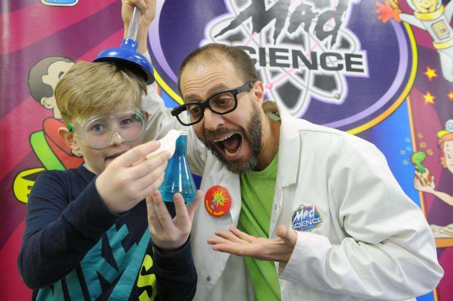 Stowmarket Mad Science Festival PICTURE: Mecha Morton