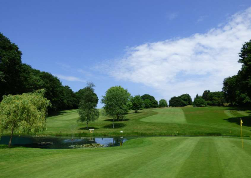 QUALIFYING EVENT: Suffolk's team will be playing at Bush Hill Park Golf Club next week Picture: Bush Hill Park Club