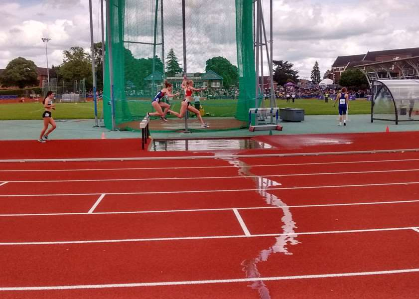 Emily Moyes competing for Junior Team GB at the Loughborough International. PICTURE: Contributed