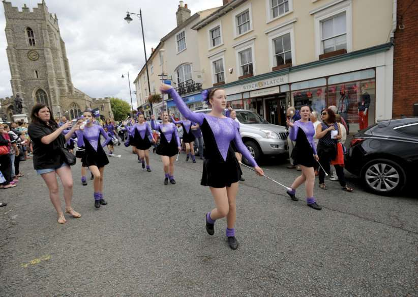 SUDBURY: Sudbury Carnival returns to the town after a 30 year break with 3 majorette troupes from the original carnivals and various floats and groups taking part in the procession. ANL-140824-234521009