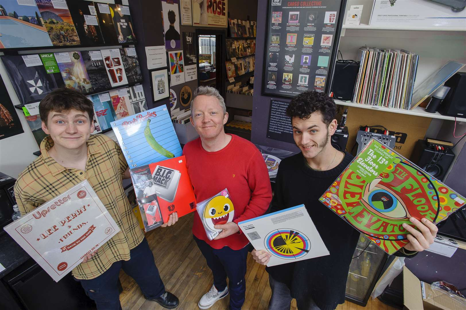 Bury St Edmunds shop Vinyl Hunter prepares for Record Store Day