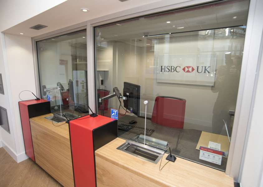 SUDBURY: HSBC reopening after fire 'HSBC, 46 Market Hill, Sudbury 'First look inside and out of HSBC which is reopening after the fire which ripped through Sudbury town centre in September 2015'Picture Mark Westley ANL-161018-225846009