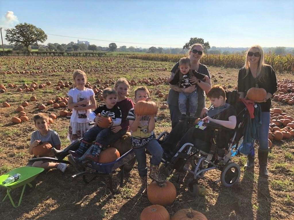 The GeeWizz Charity Pumpkin Patch and Maize Maze is back at Hall Farm from October 19 to 27. Picture: GeeWizz