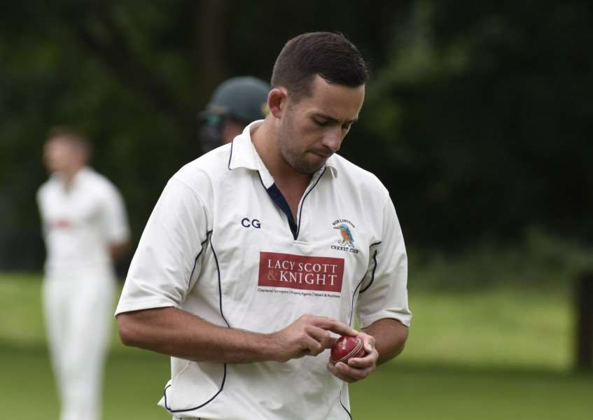 HOME DEFEAT: Cody Golding snared two wickets in Worlington's loss to Halstead