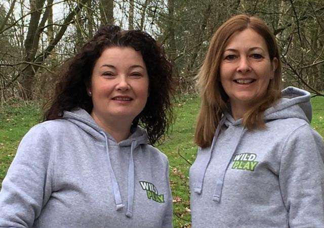 Launch of Wild Play Ltd - Heidi Franklin and Denise Winder