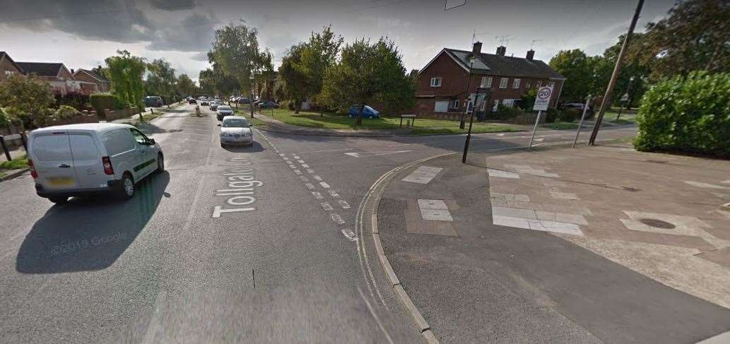 The Lancaster Avenue and Tollgate Lane junction which will be blocked off. Photo: Google (42406673)