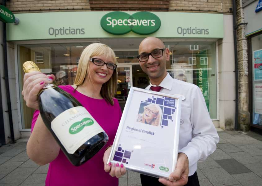 Specsavers Spectacle Wearer of the Year Regional finalist Lindsey Lancee - Haverhill. August 20 2015. ''Matthew Power Photography'www.matthewpowerphotography.co.uk'07969 088655'mpowerphoto@yahoo.co.uk'@mpowerphoto ANL-150709-134458001