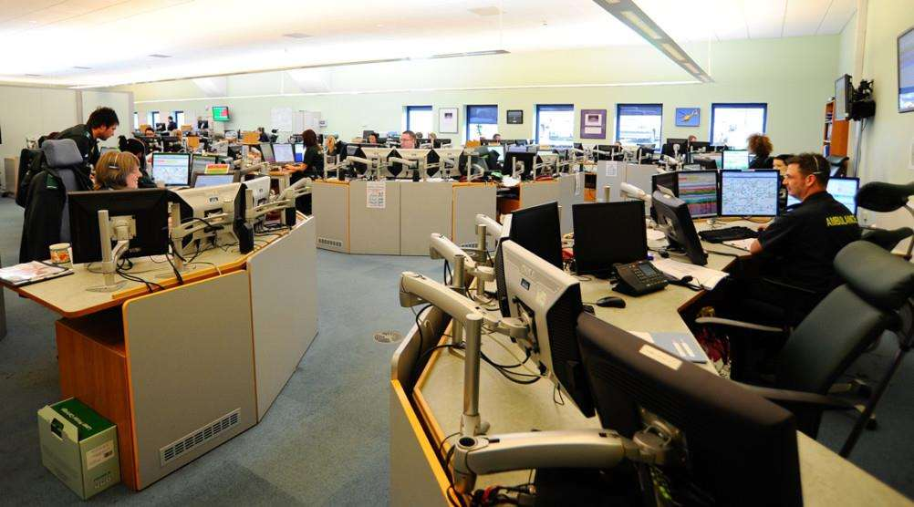 Inside an EEAST Emergency Operations Centre