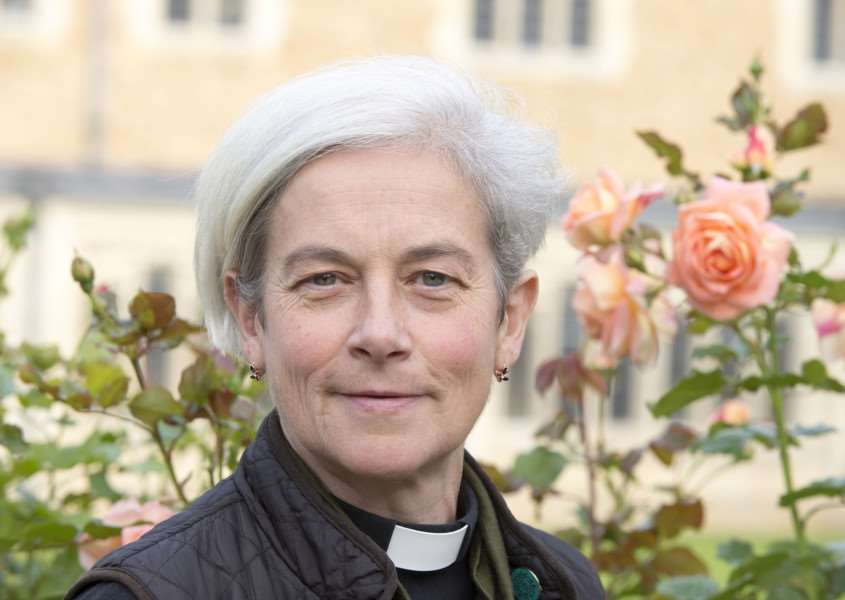 The Very Rev Dr Frances Ward, Dean of St Edmundsbury ANL-161103-110230001