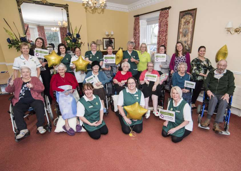 Ford Place Nursing Home, in Thetford has been rated 'outstanding' by the Care Quality Commission. Picture Mark Westley