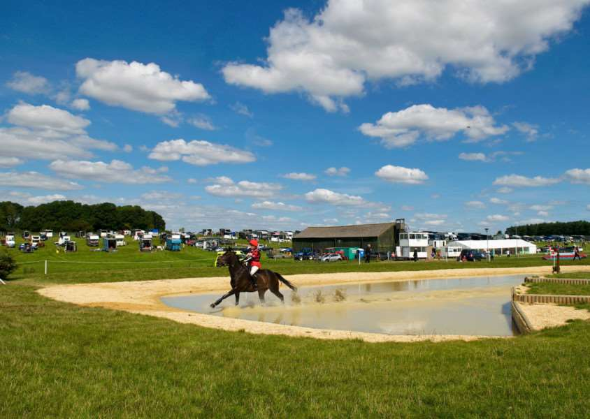 BEAUTIFUL WEATHER: Spectators were treated to blue skies across the weekend, as the events took place