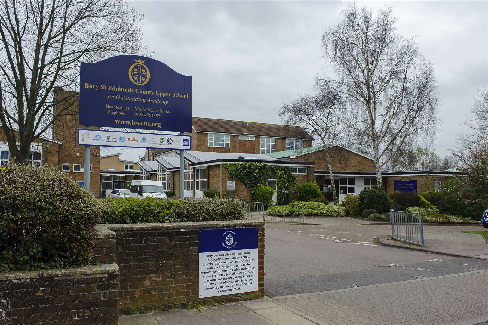 County Upper School in Bury St Edmunds has been told it still needs to improve safeguarding. Picture: Mark Bullimore Photography