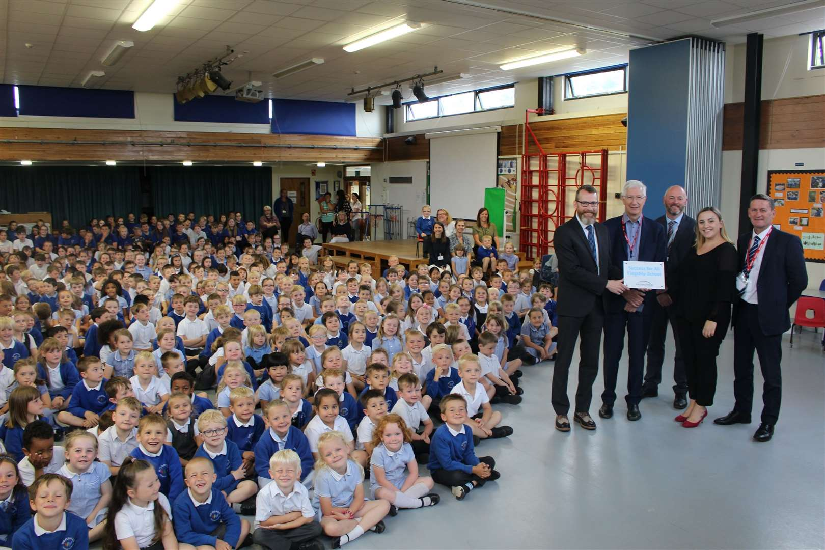 Woodhall Primary School has been named a Success For All Flagship School. Contributed picture. (15104738)