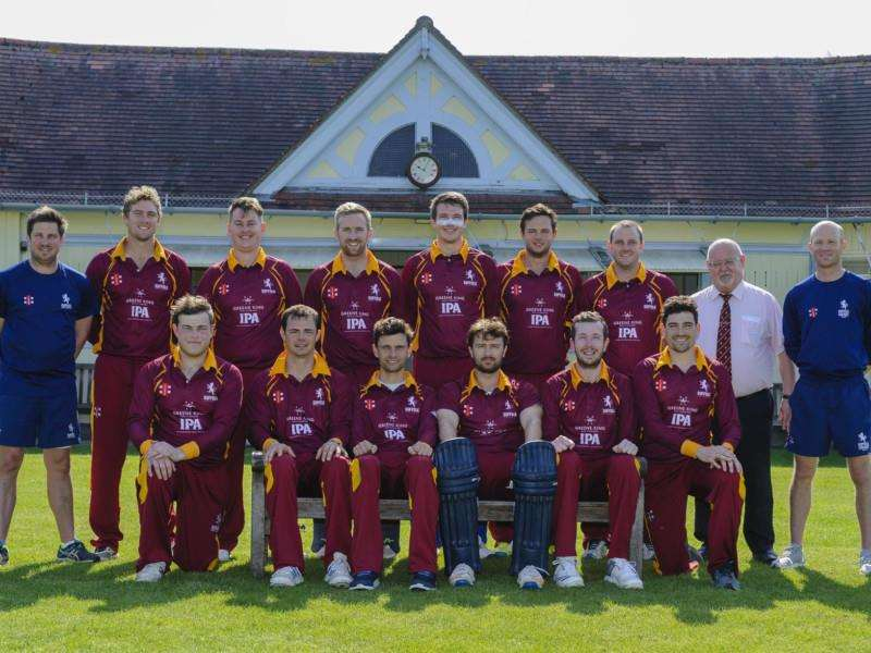 NEW DAWN: Suffolk's T20 players and coaching team line up for our camera at Sudbury's Friars Street ground ahead of their first matches of the season Picture: Mark Bullimore
