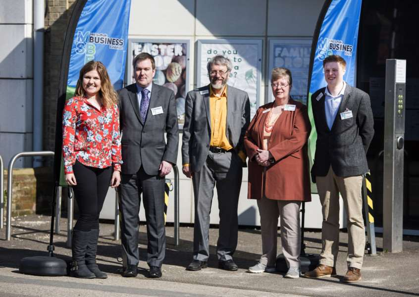 First ever Mid Suffolk Business Exhibition, which was held in Stowmarket. Picture Mark Westley