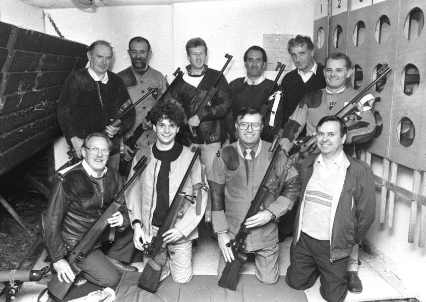 Nostalgia: Bury Small Bore Rifle Club members in October 1990 ANL-160610-152137001