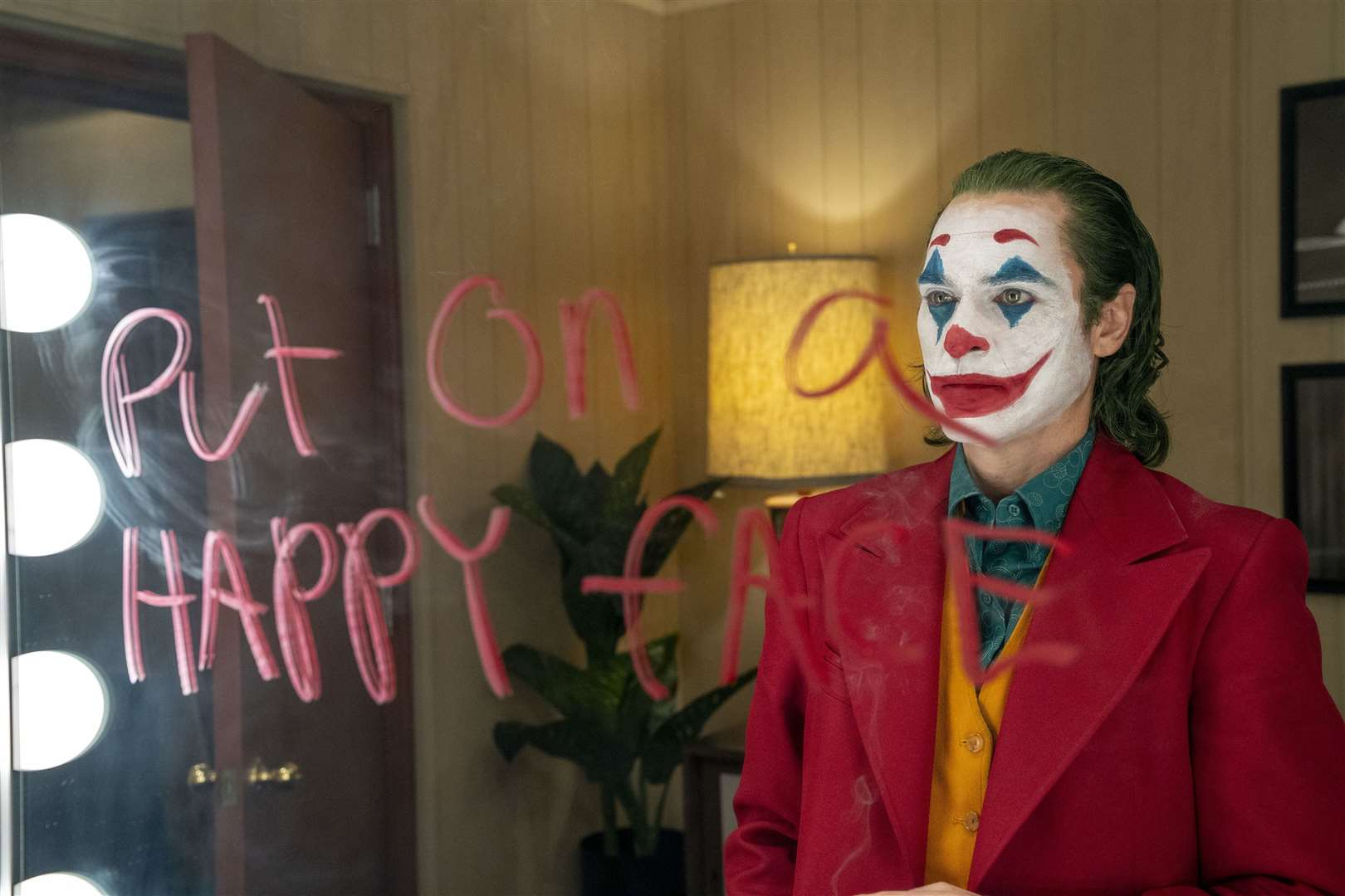 Joaquin Phoenix as Arthur Fleck in Joker. Picture by PA Photo/Warner Bros. Entertainment Inc./DC Comics/Niko Tavernise.