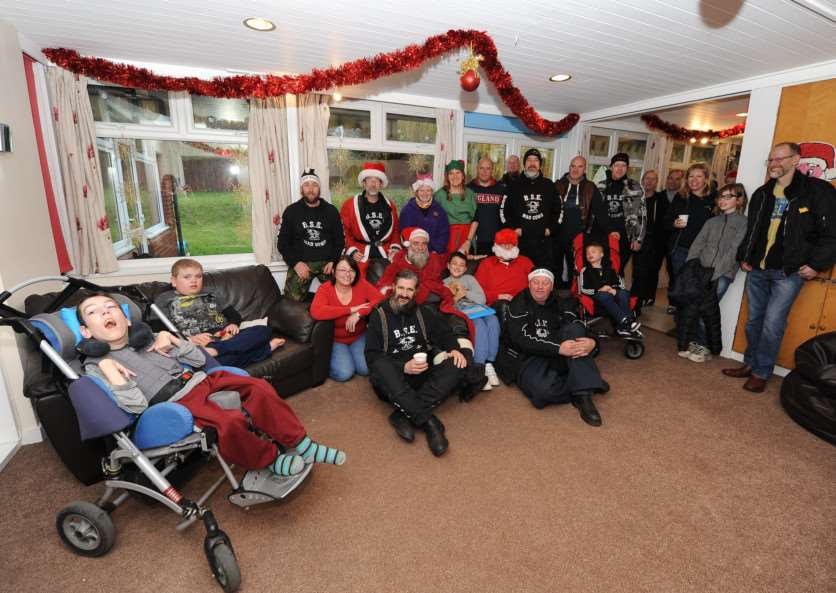 The Bury St Edmunds and district branch of of the Motorcycle Action Group (MAG), called Mad Cows, set off on its annual 'ride out' to disability charity Scope