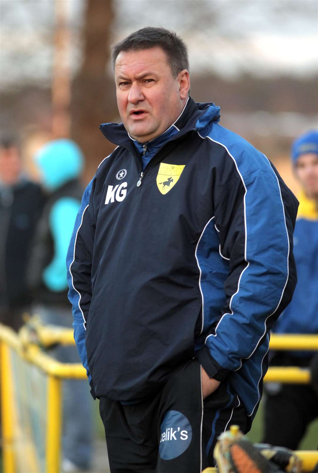 Newmarket Journal - November 2011..Newmarket Town manager, Kevin Grainger. (32728991)