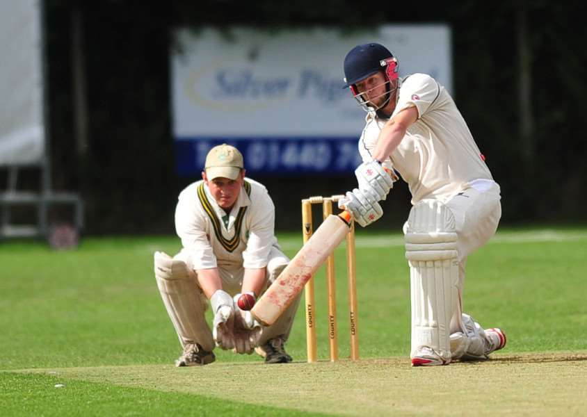 FINE FORM: Haverhill's Dan Poole now sits second in the club's leading run-scorers with 5,064 runs to his name