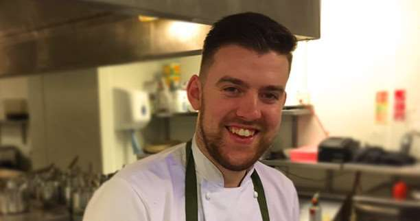 James Carn, head chef at The Angel Hotel, Bury St Edmunds