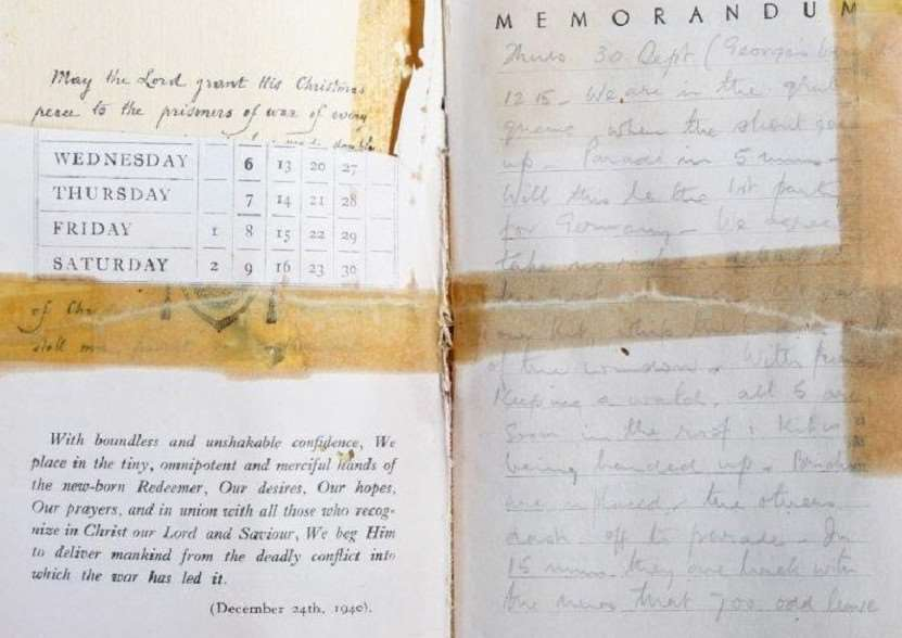 Pages from the diary of Captain John Beverly Edge,
