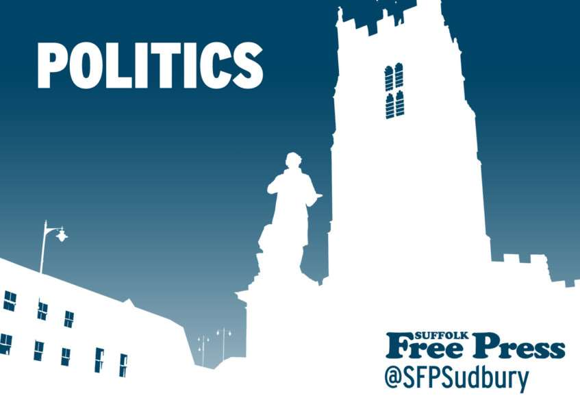 Latest politics news from the Suffolk Free Press, suffolkfreepress.co.uk, @sfpsudbury on Twitter