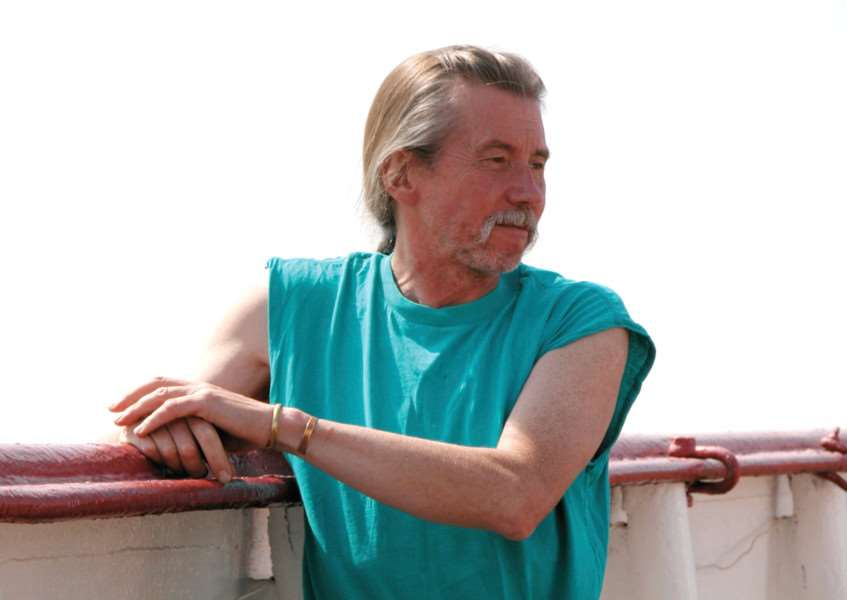 Radio Caroline managing director Peter Moore