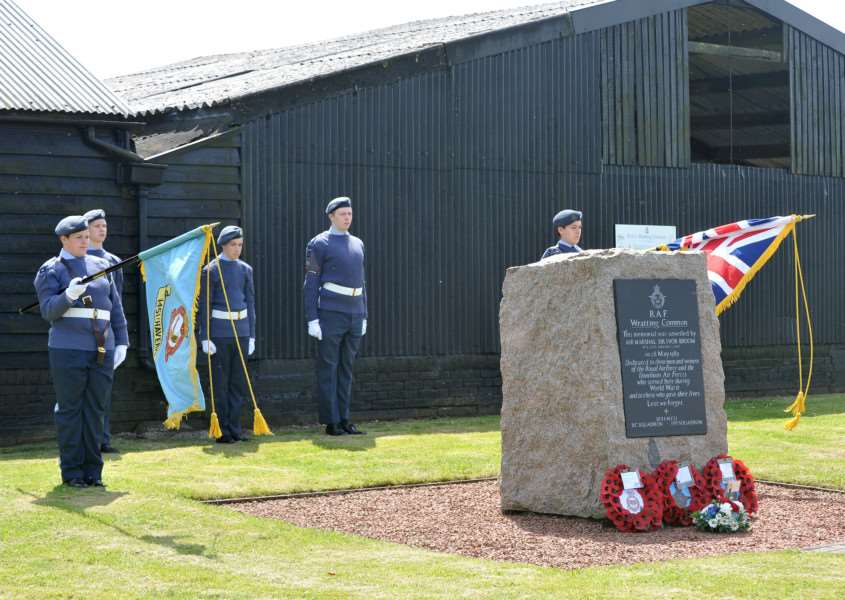 A short open air service in 2013 at RAF Wratting Common to commemorate the opening of the airfield in 1943 and to remember all those who served at the airfield, especially the 260 who died during World War II.