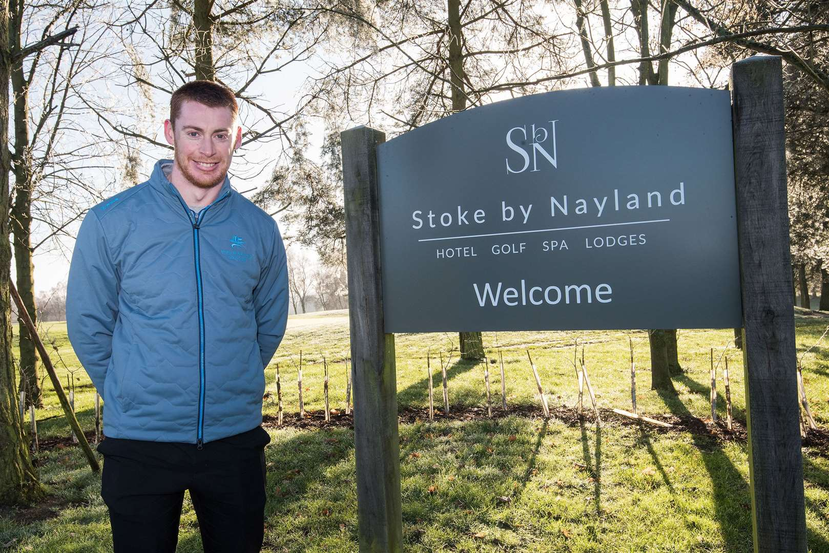 Stoke-by-Nayland's director of golf Karl Hepple is delighted the club has retained its national prize. Picture: Mark Westley