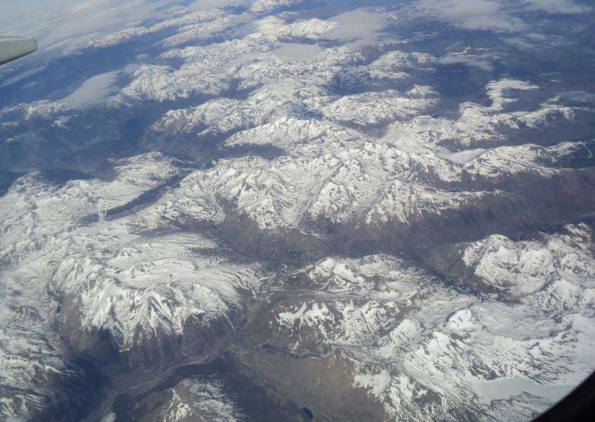 Pyrenees from the air by Katharine Goddard ANL-150206-160427001