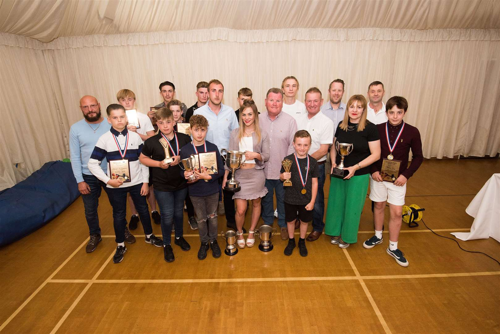 New Astley Boxing Club Awards evening sponsored by Shadwell Stud Picture by Mark Westley. (12941087)