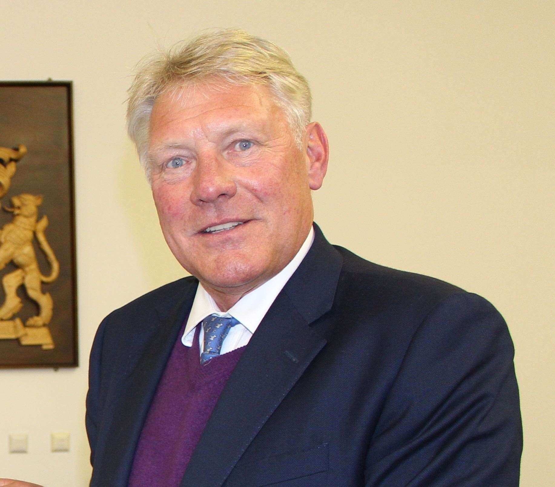 John Griffiths, leader of West Suffolk Council