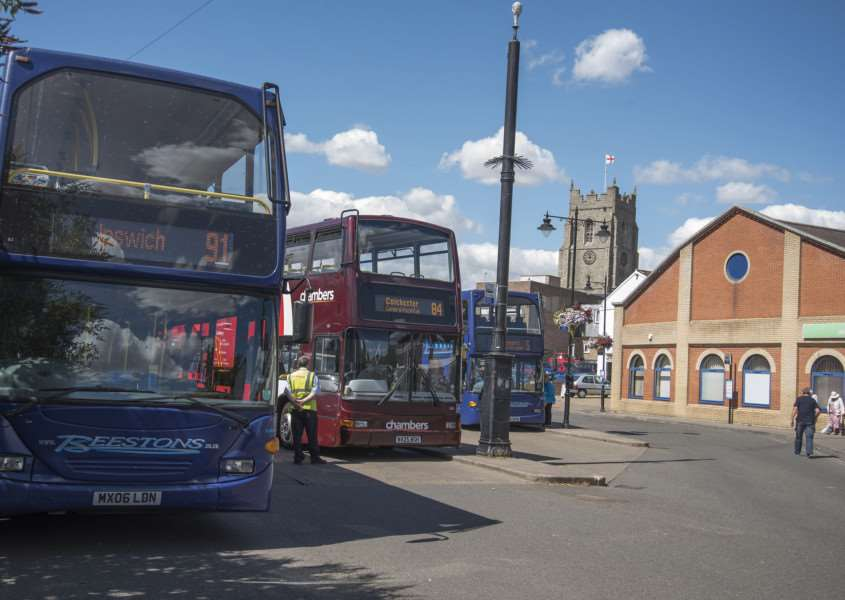 Sudbury Bus Station'Sudbury'Picture Mark Westley ANL-160908-180429009