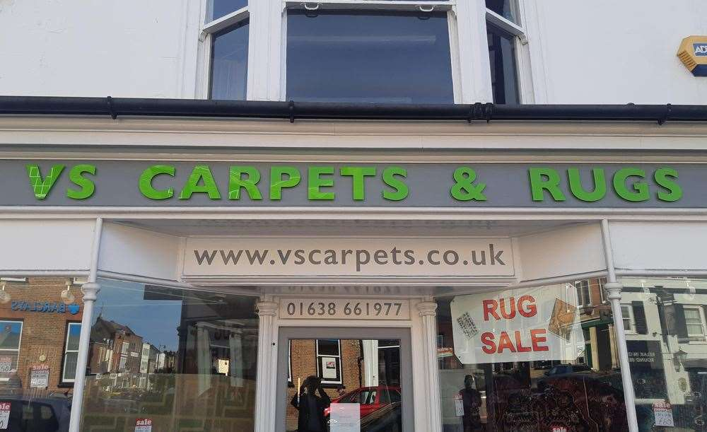 VS Carpets and Rugs, in Newmarket's High Street, has closed (16557017)
