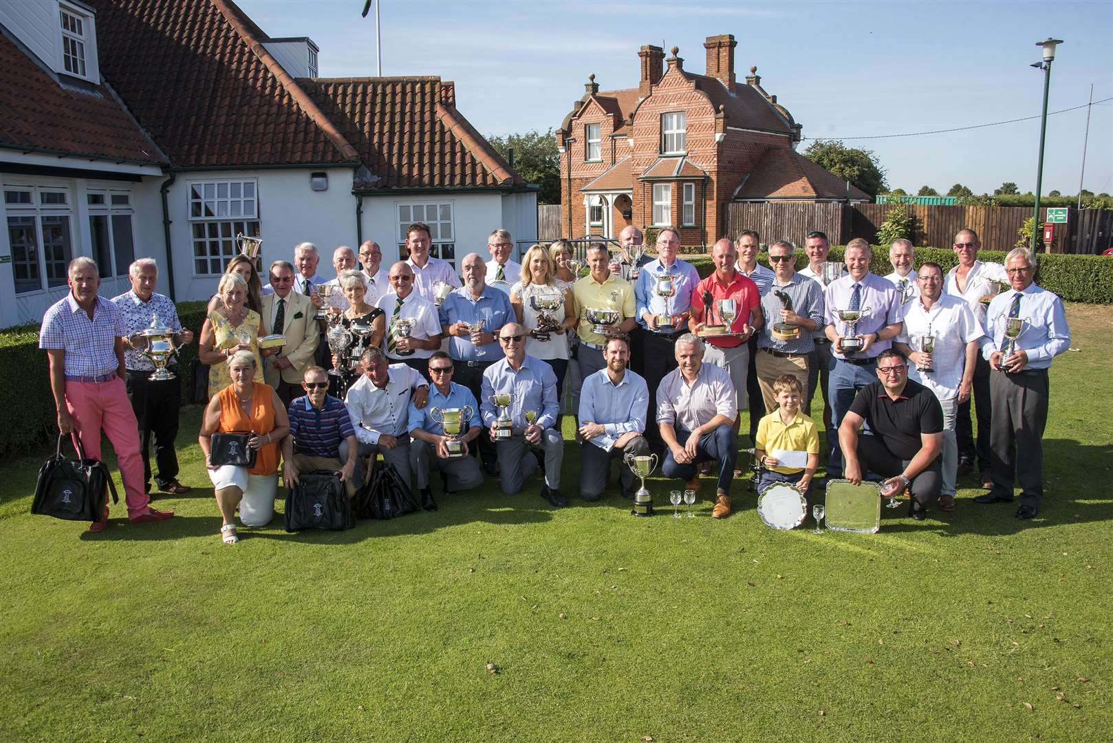 Newmarket Links Golf Club Captains Day presentations Picture Mark Westley. (2827781)