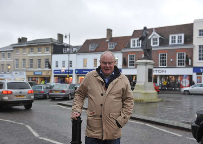 Simon Barrett, Sudbury district cllr, who is pleased the transport plan is going for consultation and a fresh start after iniital ideas were not well received.