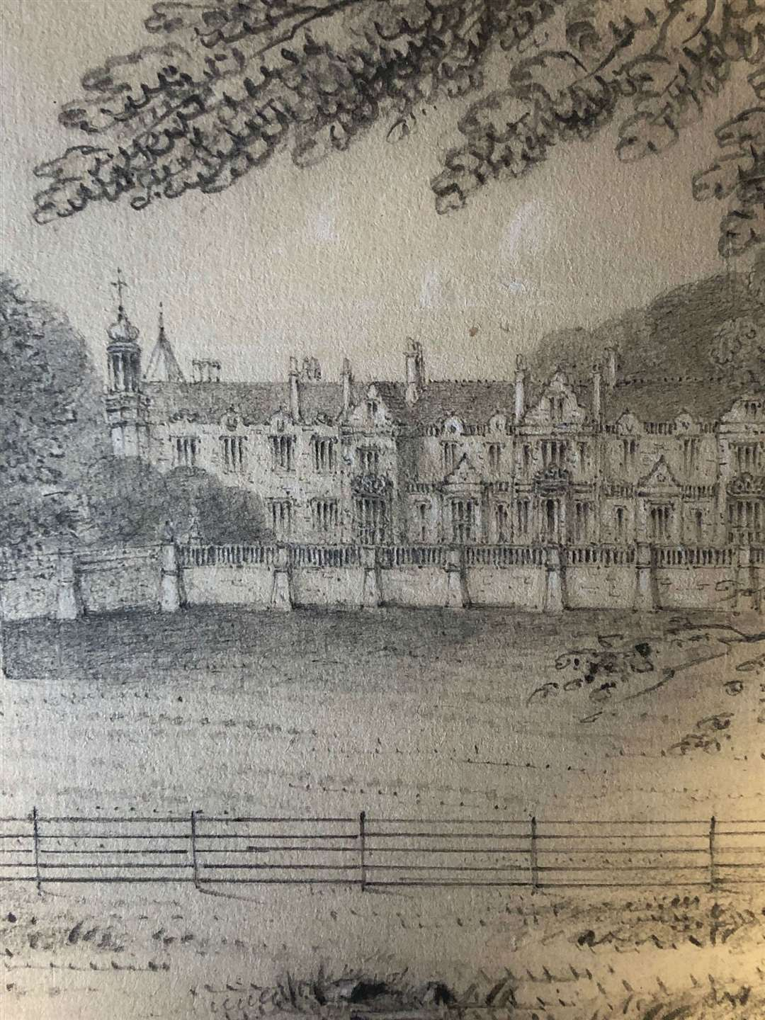 Auction Offers Rare Glimpse Of Lost Hardwick House In Bury