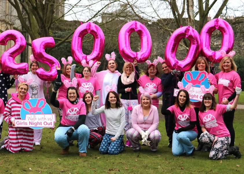 St Nicholas Hospice Care officially reveals its record-breaking Girls Night Out total for 2016 as �250,000