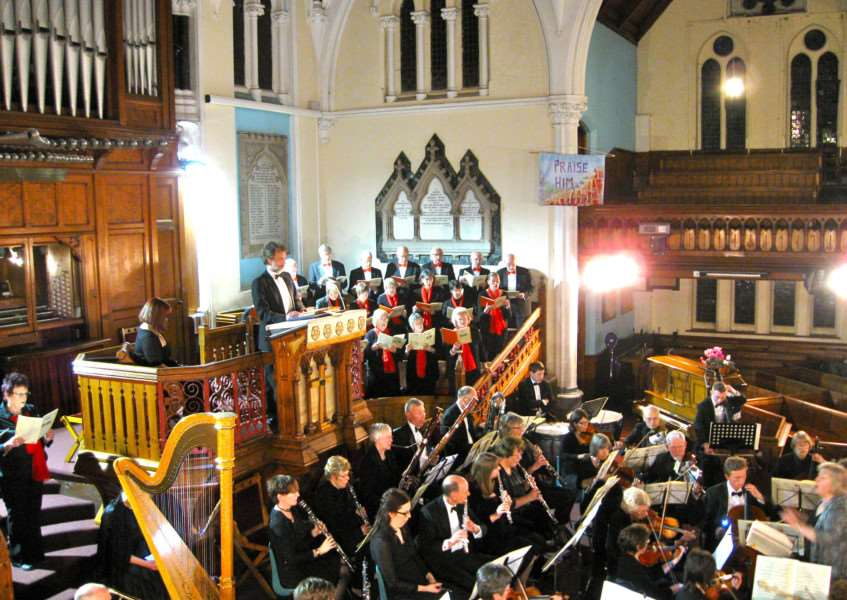 Haverhill Choral Scoiety in concert at the Old Independent Church