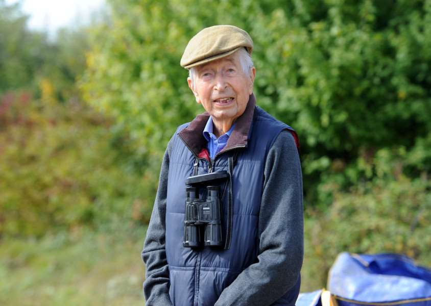 Bernard Tickner''helped found Lackford Lakes and is a major donor towards the extension